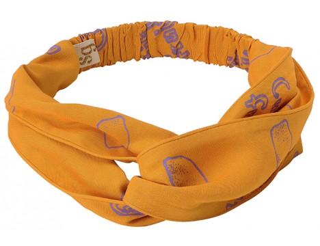 Soft Gallery Wrap Hairband LEMON