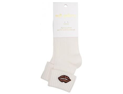 Soft Gallery LEOPLIPS Socks