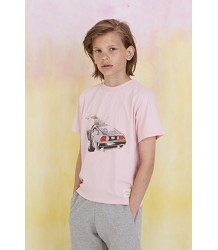 Soft Gallery Asger T-shirt DELOREAN