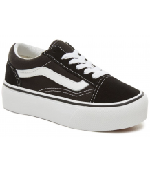 VANS Old Skool Kids PLATFORM VANS Old Skool Kids PLATFORM Black white