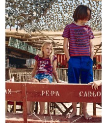 Zadig & Voltaire Kids Tee Shirt Nataly GIRLS CAN Zadig & Voltaire Kids Tee Shirt Nataly GIRLS CAN