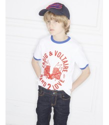 Zadig & Voltaire Kids Tee Shirt Kita HARD 2 LOVE Zadig & Voltaire Kids Tee Shirt Kita HARD 2 LOVE