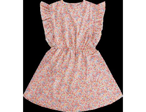 Repose AMS Misty Ruffle Dress LIBERTY FLOWER